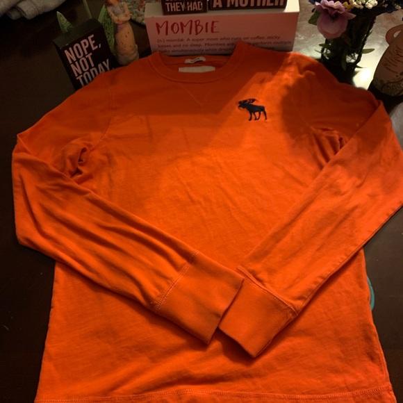 abercrombie kids Other - 🧡Abercrombie Kids Muscle Orange Shirt Size XL🧡